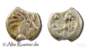 Keltische Münze, Stamm der Senonen