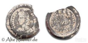 Gussform eines antiken Münzfälschers