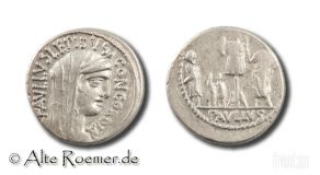 L. Aemilius Paullus - Denar