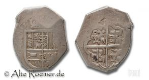 Münze zu 8 Reales -