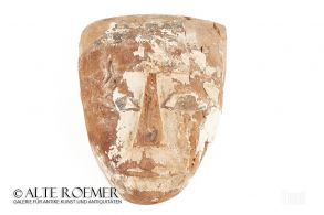 Sarcophagus mask from Ancient Egypt