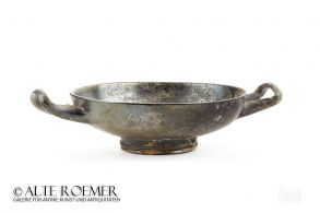 Greek Kylix with stamped palmettes