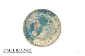 Base plate of a Roman mirror