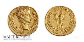 Extremely rare Augustus aureus