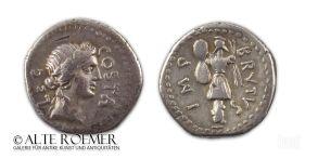 Marcus Iunius Brutus - Denarius