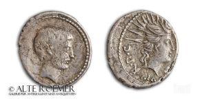 Denarius des Markus Antonius - Sol