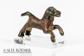 Published coptic bronze figurine of a horse