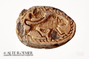 Buy ancient Egyptian scarab with lion
