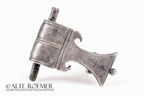 Roman silver fibula