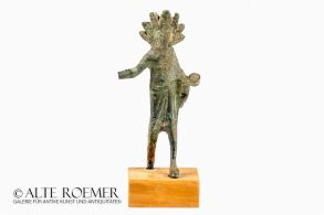 Etruscan bronze statuette of a youth