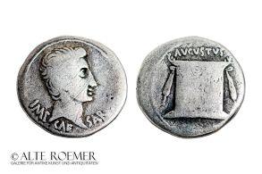 Augustus Cistophoric tetradrachm