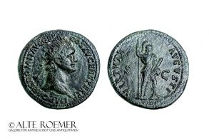 Extremely fine Domitian dupondius