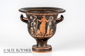 Greatly preserved Apulian bell krater