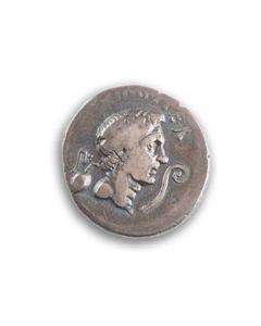 Sextus Pompeius Magnus - Rare denarius