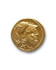 Roman Republic - 60 gold asses - one of the best known specimen