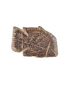 Tilapiabarsch aus dunklem Stein kaufen