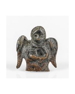 Published coptic bronze figurine of an angel