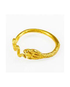 Buy Roman Egyptian snake shaped fingerring