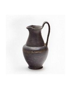Etruscan bucchero oinochoe