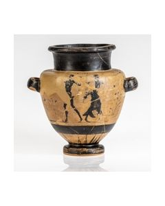 Black figure Etruscan Stamnos from Toledo Museum collection