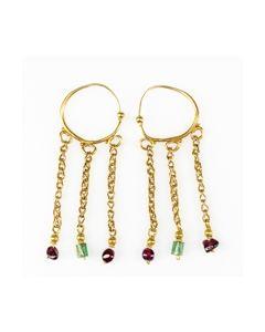 Buy Byzantine gold earrings