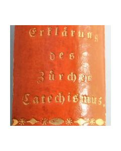 Rare print - Praktische Erklärung des züricherischen Katechismus